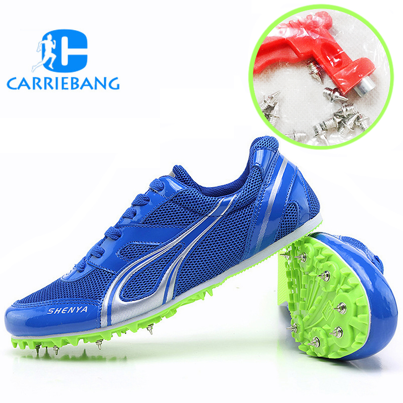 Spikes for Shoes Athletics Lightweight Spikes Shoes for Running Long Jumping Mesh Breathable Men Sneakers Track & Field ShoesSpikes for Shoes Athletics Lightweight Spikes Shoes for Running Long Jumping Mesh Breathable Men Sneakers Track & Field Shoes