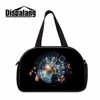 Dispalang Art дорожная сумка для женщин большая сумка на плечо выходные сумки для багажа мужские даффл сумки отделение для обуви сумка для путеше...