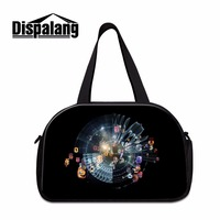 Dispalang Art Travel Bag for Women Large Shoulder Weekend Carry on Luggage Bags Men Duffel Bags shoe pocket Tote Travling bag