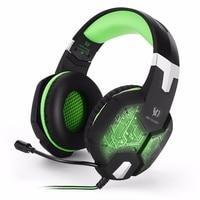 New EACH G1000 Deep Bass Gaming Headphone Stereo Surround Over Ear Headset 3 5mm USB Headphones