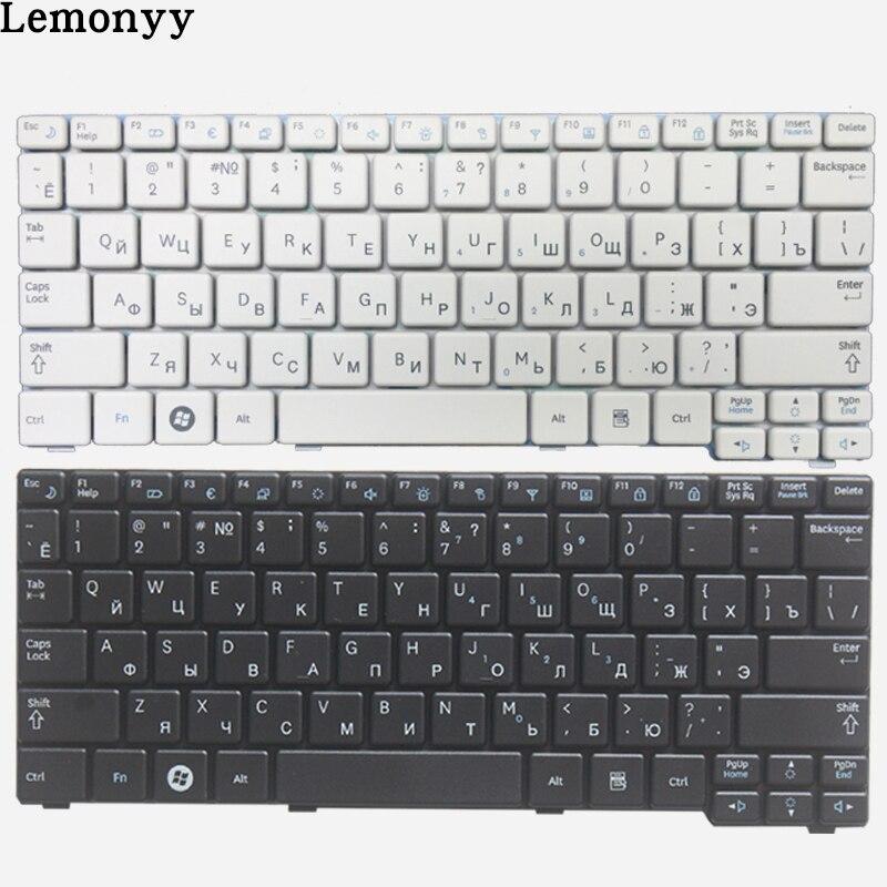 New Russian Keyboard For Samsung N150 NB20 NB30 N143 N148 NPN148 NPN150 N158 RU Laptop Keyboard White/black