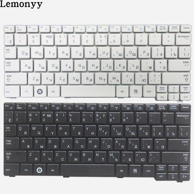 מקלדת רוסית חדשה עבור Samsung N150 NB20 NB30 N143 N148 NPN148 NPN150 N158 RU מקלדת מחשב נייד לבן/שחור