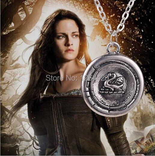 Necklaces & Pendants Wholesale 24pcs/lot Snow White Once Upon A Time Emma Swan Talisman Pendant Necklace Antique Silver Last Style Jewelry & Accessories
