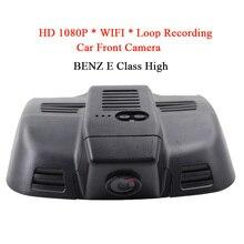 WIFI Waterproof HD 1080P Automotive DVR Digicam Evening Imaginative and prescient Entrance Digicam For BENZ E Class HIGH Monitor Recorder GPS Loop Recording