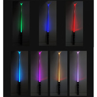 Star Wars Laser Sword Cosplay Prop Saber Seven Color Shine Children's Outdoors Luminous Lightsaber Toys Boy Gril Flashing Gift 1