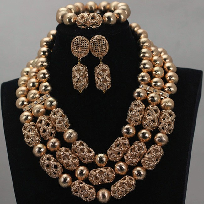 African Coral Beads Bridal Jewelry Set Dubai Gold Women Costume Party Jewelry Set Nigerian Wedding Jewelry Free Shipping WE101