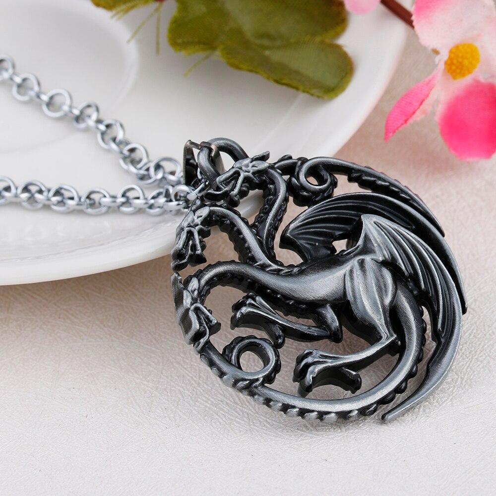 3457078e09a7 Lureme Juego de tronos inspirado Targaryen familia insignia metal ...