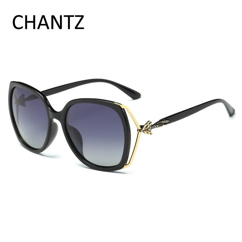 Módní sluneční brýle dámské značkové Fox polarizované sluneční brýle pro dámské jízdní odstíny UV400 Occhiali Da Sole Donna
