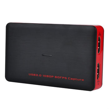HD 1080P 60FPS HDMI to USB3.0 game capture, Live Steaming to Youtube with HDMI Output, OBS studio for windows mac linux