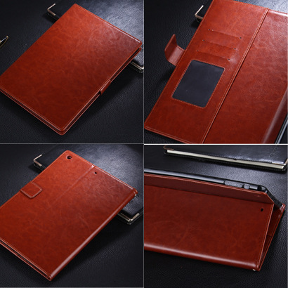 Leather Cover for IPad Mini 1 2 3 4 Case Tablets Protection Cases Folding Folio Case Stand Holder for IPad