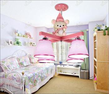 Niños juguete moderno restaurante iluminación ingeniería creativa dormitorio una sala de estar lámparas y linternas es envío gratis ET47