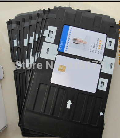 1151pcs/lot Inkjet Printable blank PVC card for Epson printer,Canon printer + 1pcs card tray directly printing inkjet blank pvc card for epson printer r265 r310 r320 r350 r390 double side printable pvc id cards 230pcs box