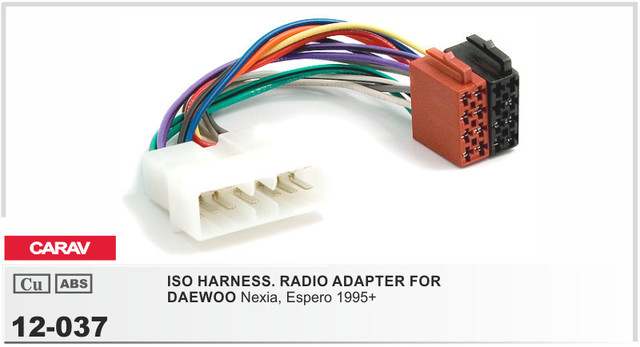 car radio stereo iso wiring loom adapter cable connector for daewoo 12 037 car radio iso radio plug for daewoo nexia espero 1995 stereo car radio stereo iso wiring loom adapter cable connector for daewoo