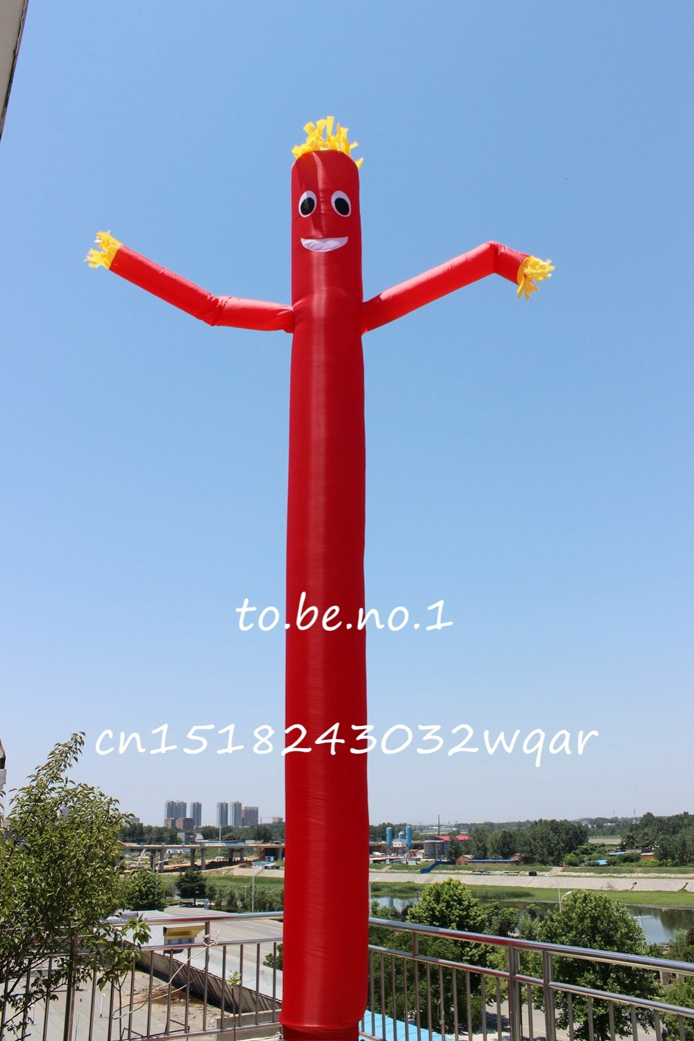 Inflatable Toys 6M 20FT Inflatable Tube Sky Dancer Air Dancer NO blower D3006 цена и фото