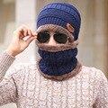 Флис шерсть лайнер грелки шеи кольцо шарф вязаная шапка зимние шапки для мужчин женщины лыжные аксессуары, спорт gorro капот шарфы
