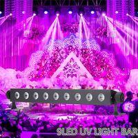 27W LED Stage Light Disco UV Violet Black Lights DJ Par Lamp UV For Party Christmas Bar Lamp Laser Stage Wall Washer Spot Light