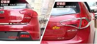 For LIfan X50 2014 2015 Chrome Rear Tail Lamp Light Cover Trims