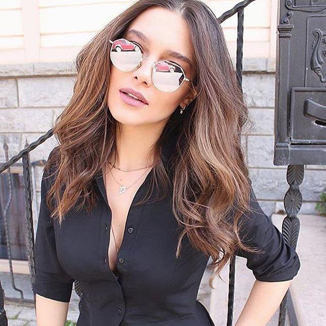 2017 Lahexagon Sunglasse Metall Frauen Marke Designer Fashion Randlose Klar Ozean Linsen Sonnenbrille Uv400 HöChste Bequemlichkeit