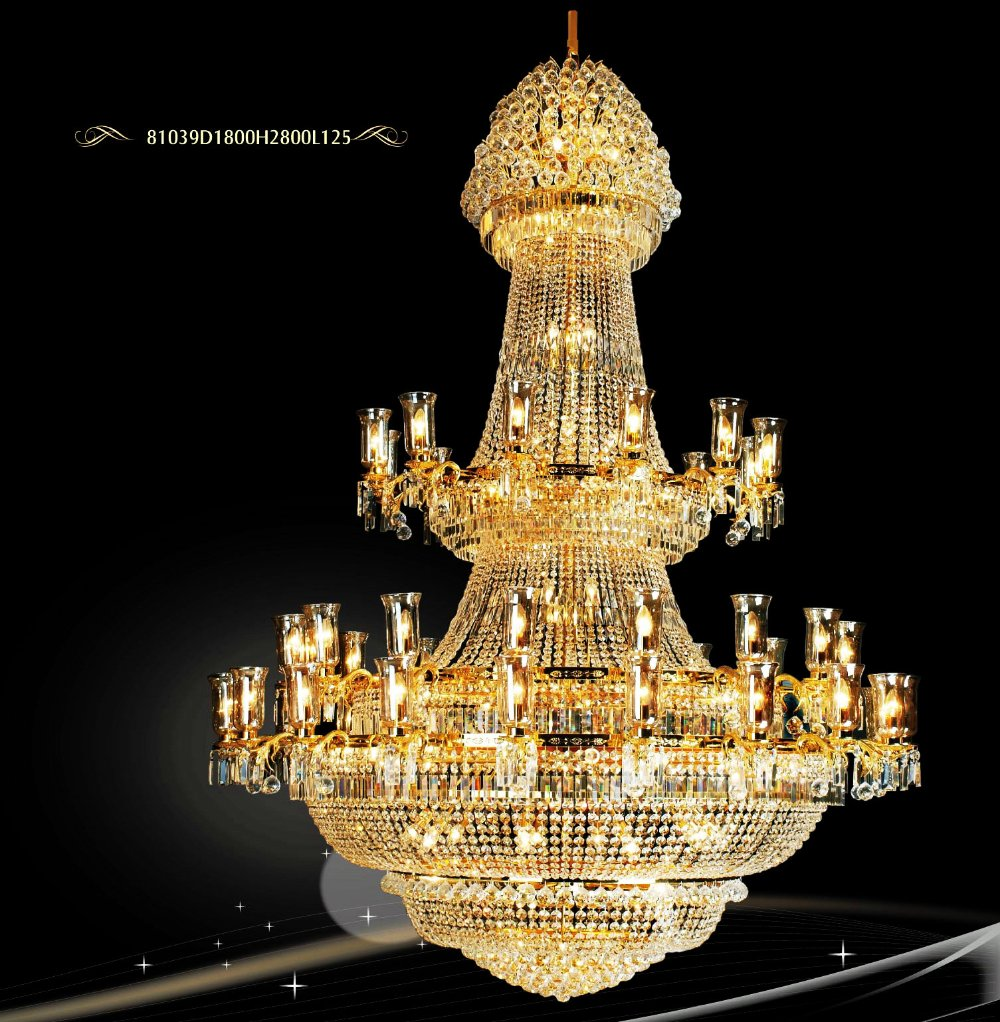 Free shippingbeautiful modern fashion big chandelier best beautiful modern fashion big chandelier best design crystal lighting best design 81039d1800h2800l125 in chandeliers from lights lighting on aliexpress arubaitofo Images