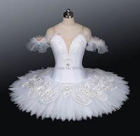 White Swan Lake Ballet Tutu Adult Ballet Professional Tutu Skirt,Women/Child/Kids Dance Costumes,Feather Tutu Ballet AT0095