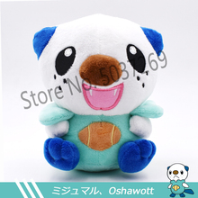 15cm Oshawott Plush Toys High Quality Cute Anime Peluche Toy Childrens Gift Kids Cartoon Mijumaru Doll