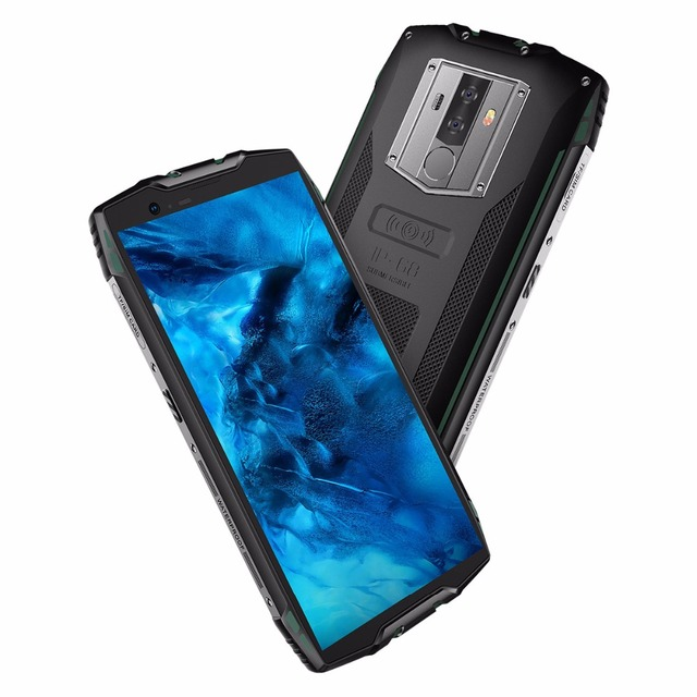 Blackview BV6800 Pro IP68 Waterproof smartphone 4GB+64GB 5.7″ 18:9 MT6750T Octa Core 16.0MP Android 8.0 6580mAh Wireless charger
