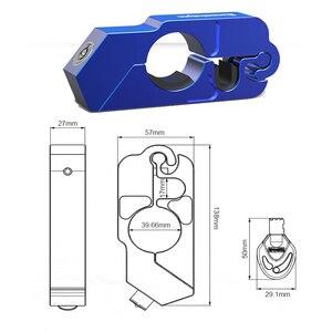Image 4 - Motorcycle Grip Lock CNC Security Safety Locks Handlebar Handset Brake Lever Disc Locking Fit Scooter ATV Anti theft Motor Lock
