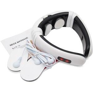 Image 2 - Aptoco الكهربائية نبض الظهر والرقبة مدلك الأشعة تحت الحمراء البعيدة لتخفيف الآلام أداة الرعاية الصحية الاسترخاء