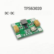 TPS63020 Automatische Buck boost Power Module DC Zu DC Lithium Batterie Niedrigen Welligkeit Spannung Conversion 1,2 V 5,5 V ADJ
