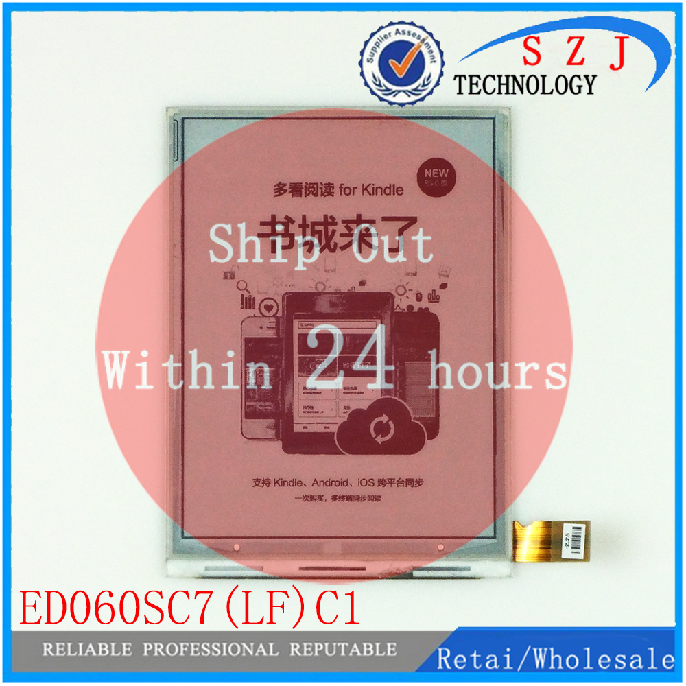 New 6 inch ED060SC7(LF)C1 E-ink LCD For AMAZON KINDLE 3 D00901 k3 ebook reader LCD Display Screen Replacement free shipping 3 5 inch for pd035vl1 pd035vl1 lf industrial lcd screen lcd display panel free shipping