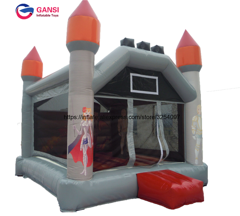 Indoor or Outdoor Commercial Grade Bouncy Castle,0.55MM PVC Inflatable Bouncer for Sale free shipping pvc material inflatable baby bouncers hot sale 3 75x2 6x2 1 meters small mini bouncy castles for outdoor toys