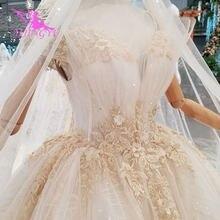 368fe5022766ad AIJINGYU Zijde Wedding Jurken Sexy 2018 Wieden Voor Bruid Witte Lange Mouw  Luxe Coutures Gown 2019 Kanten Jurk Bruiloft