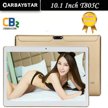 CARBAYSTAR T805C Smart tablet pcs android tablet pc 10,1 zoll octa-core tablet computer Ram 4 GB Rom 64 GB weiß Gold