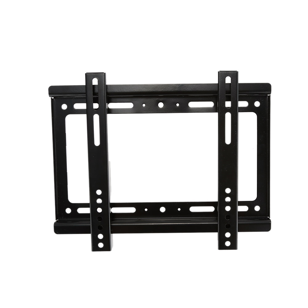 new hdtv wall mount tv flat panel fixed mount flat screen bracket with vesa compatibilityfor 14. Black Bedroom Furniture Sets. Home Design Ideas