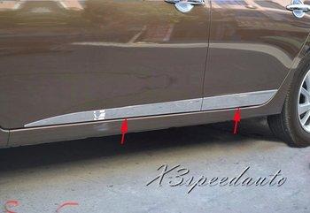 Alta Qualidade Cromado Side Molding Guarnição da Tampa da Guarnição Para Nissan Sentra Sylphy 2012 2013