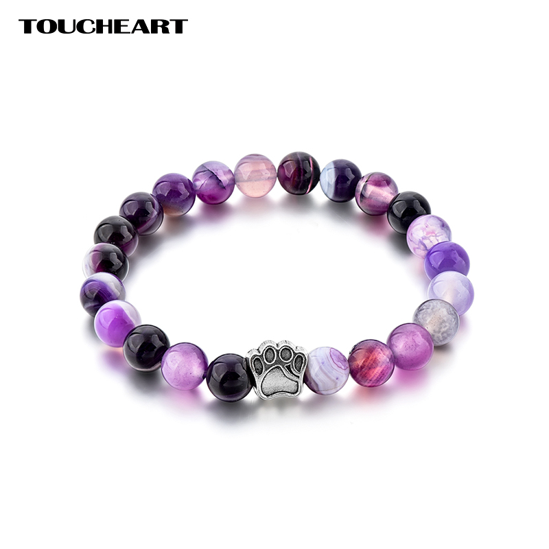 Купить toucheart ручной работы собачья лапа браслет с принтом & браслет