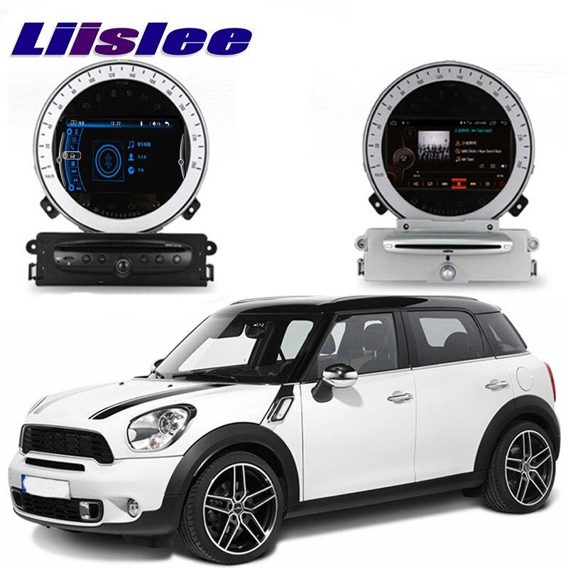 Liislee Car Multimedia Player NAVI para Mini Countryman uno Cooper SD R60 2010 ~ 2016 Radio estéreo del coche del GPS navegación sistema CE