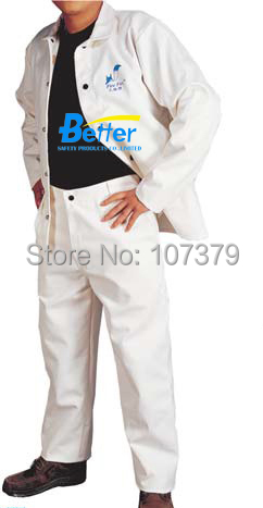 FR Clothing Flame Retardant Welding Clothing FR Cotton Coverall  FR Cotton Welding Clothes fire fox 100% fr cotton blue jeans work trousers sweat absorbing breathable flame resistant welding clothing