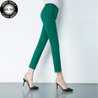 Women S Casual Work Pencil Pants 2018 New Elegant Cute 20 Color Big Size Trousers Women