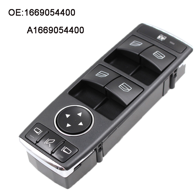 YAOPEI Nový spínač elektrického ovládání okna pro Mercedes ML350 ML500 ML63 G500 G550 G55 1669054400 A1669054400