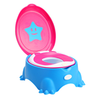 Child Pot Baby Toilet Seat Star Leakproof Children's Potty Portable Children's Pot Training Unisex Kids Folding Potty Chair