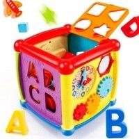 Montessori Learning&Education Exercise hand eye coordination music shape pairing early education intelligence box toys