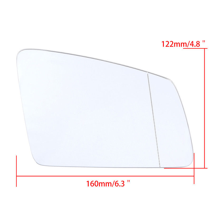 Pair Side Heater Wing Mirror Glass For Mercedes-Benz S/C/E-class W212 W204 C63 S C E Class W212 W204 X204 W221