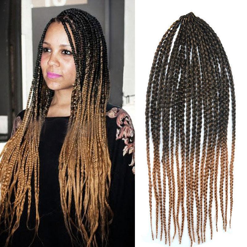 24 Long Dreadlocks Wavy Black Brown Afro Kinky Curly Hair Crochet