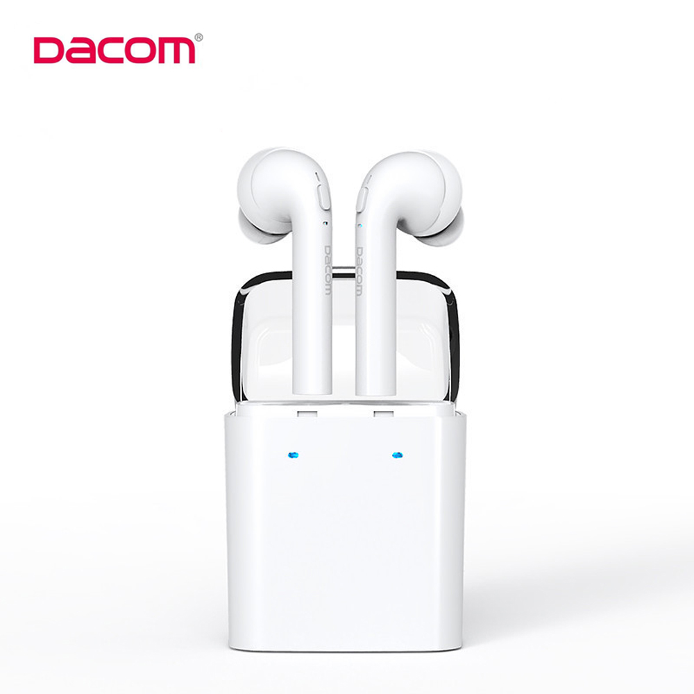 Original Dacom MINI True Wireless Bluetooth Earphone For iPhone 7 7s Double Twins Bluetooth Headphone with Retail Box dacom tws mini double ear bluetooth 4 2 headset true wireless sport earphone with charging box for iphone 7 7s xiaomi samsung lg