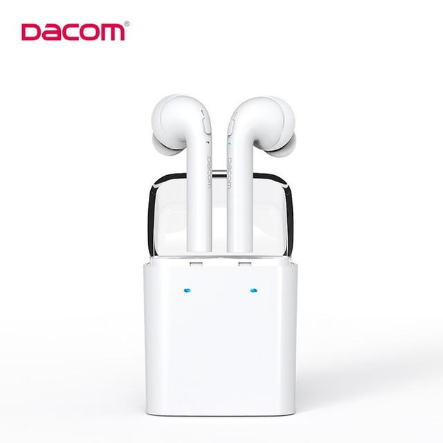 Original Dacom MINI True Wireless Bluetooth Earphone For IPhone 7 7s Double Twins Headphone With