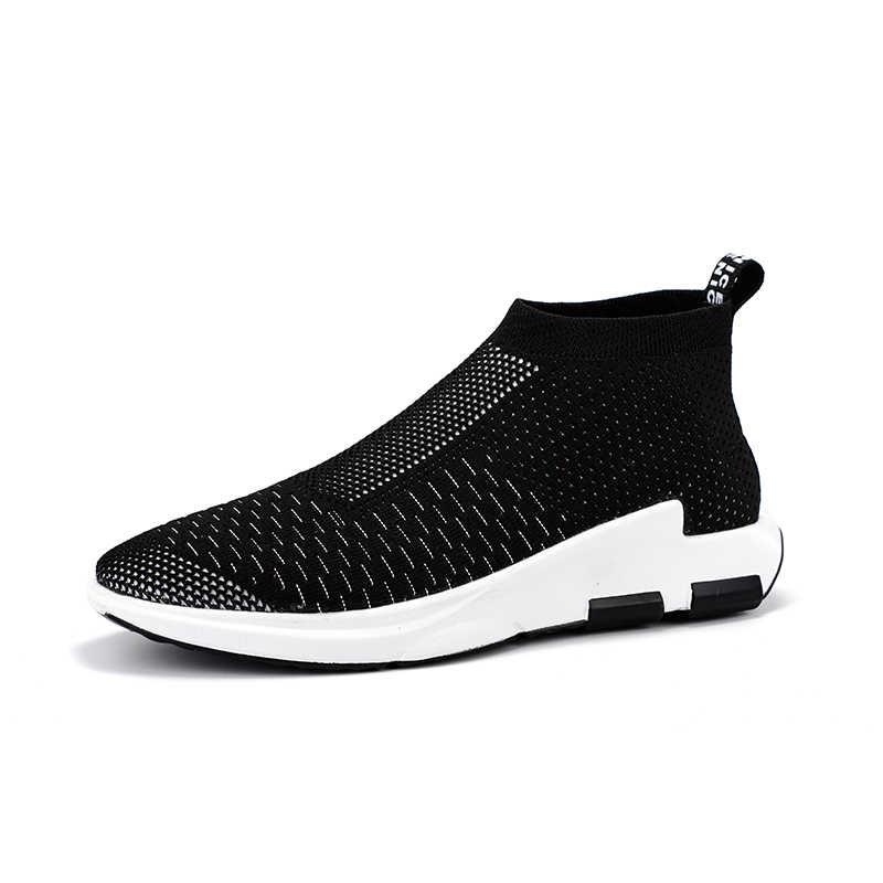 ONLYMONKEY los hombres Zapatos de los hombres transpirables Slip en la  comodidad correr al aire libre 70c9e764dc9d