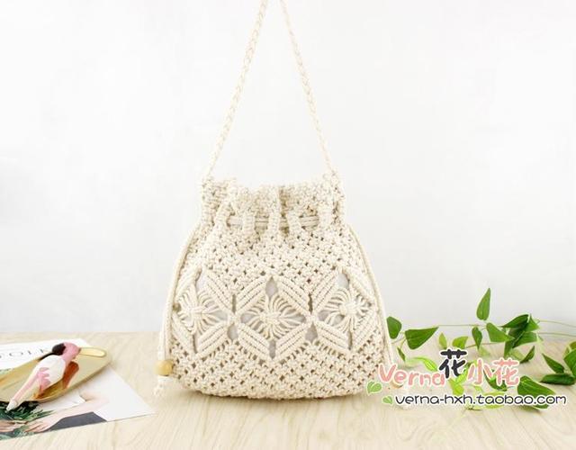 Weaving Bucket Bag Mini...