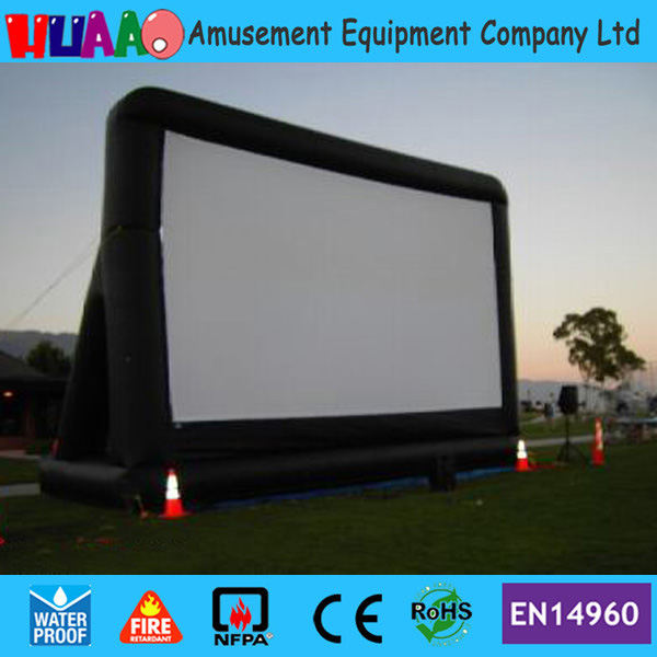 Free shipping giant inflatable Movie Screens for advertising,Outdoor Home Theater inflatable screen
