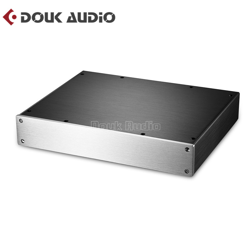 Power Amplifier/Preamp/Headphone Amp/DAC Chassis Aluminum Enclosure DIY Case Box preamp amplifier chassis aluminum case dac amp shell diy amp case